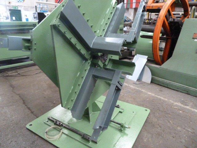 twin 1 ton per side decoiler