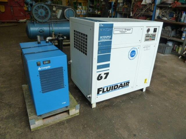 FLUIDAIR COMPRESSOR AND DRIER