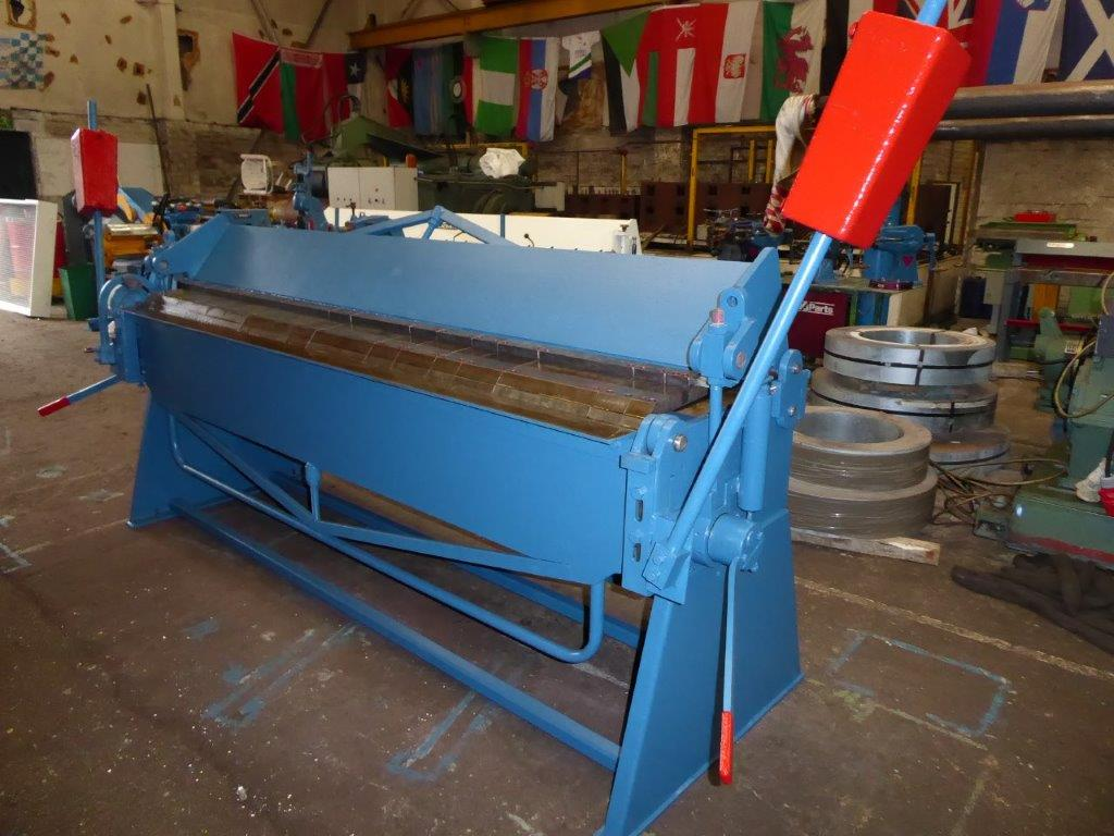 WALTON B&P 2,5 metre box pan folder
