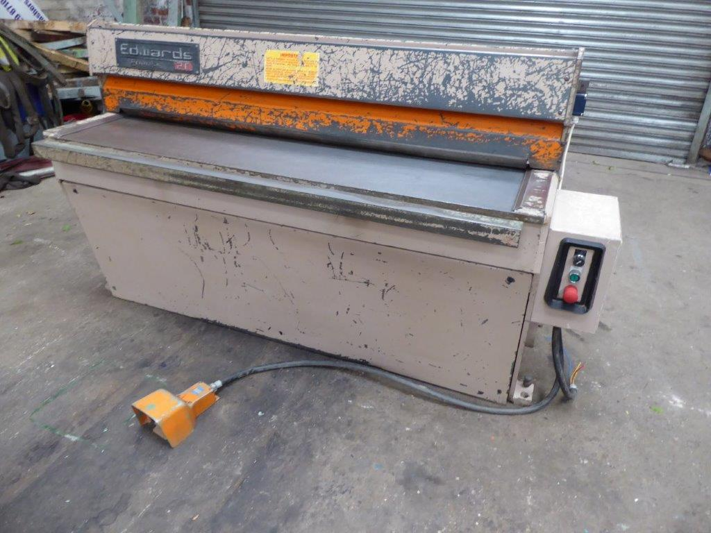 EDWARDS 1500MM WIDE DD GUILLOTINE