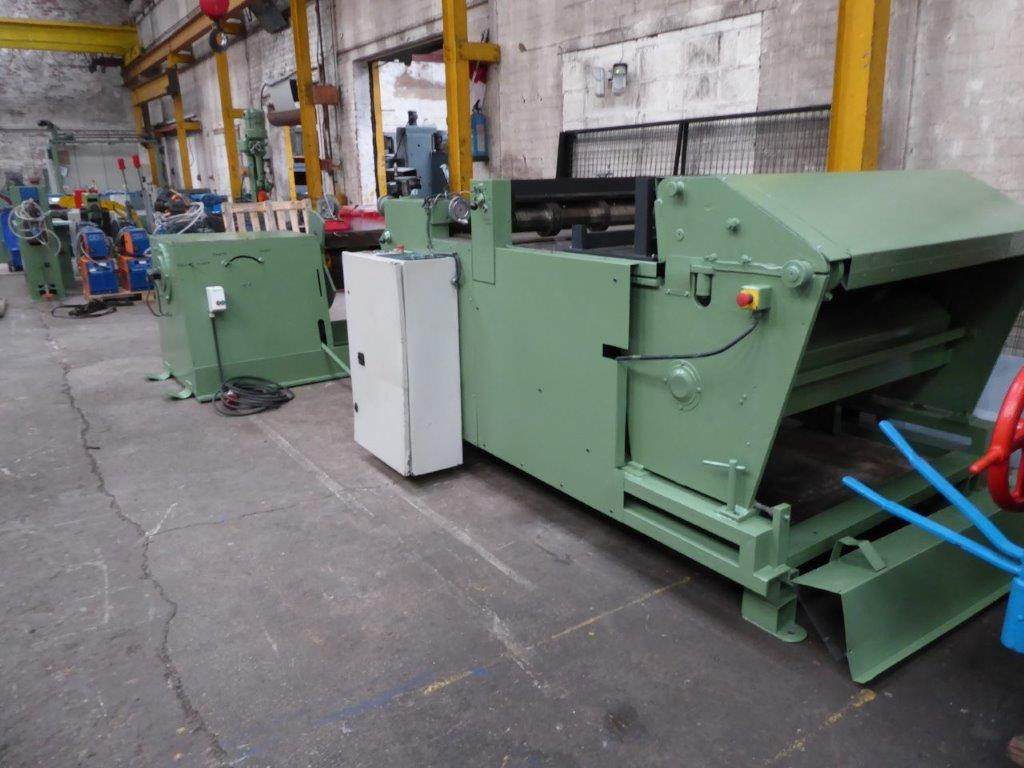 CUT TO LENGHT AND SLITTING LINE
