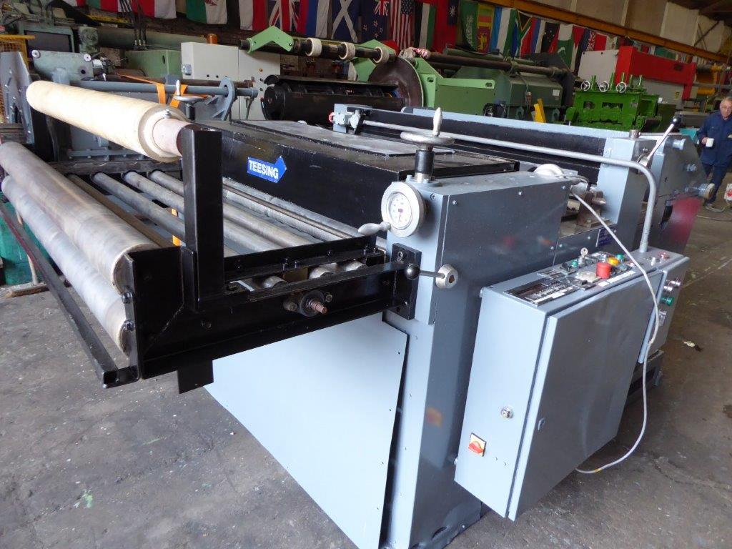 TEESING CUT TO LENGHT AND SLITTING LINE